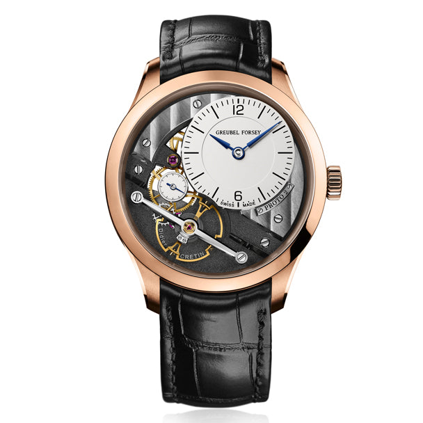 GREUBEL FORSEY SIGNATURE 1 LIMITED EDITION 08 OF 11 IN ROSE GOLD