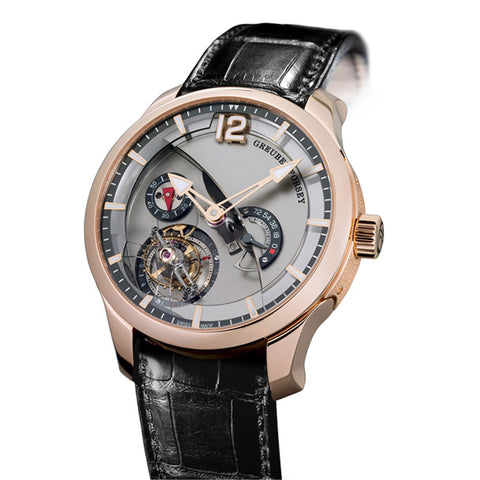 GREUBEL FORSEY TOURBILLON 24 SECONDS CONTEMPORAIN IN ROSE GOLD
