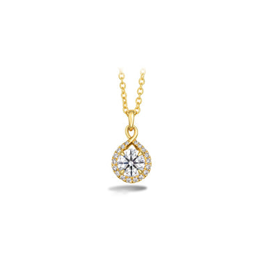 HEARTS ON FIRE OPTIMA DIAMOND DROP PENDANT