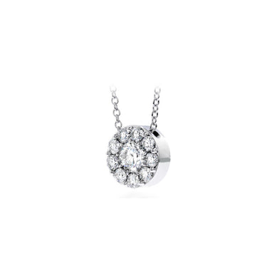 HEARTS ON FIRE FULFILLMENT DIAMOND PENDANT IN WHITE GOLD