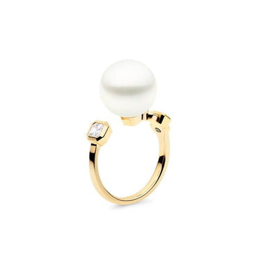 NOUVEAU MERIDIAN RING, YELLOW GOLD