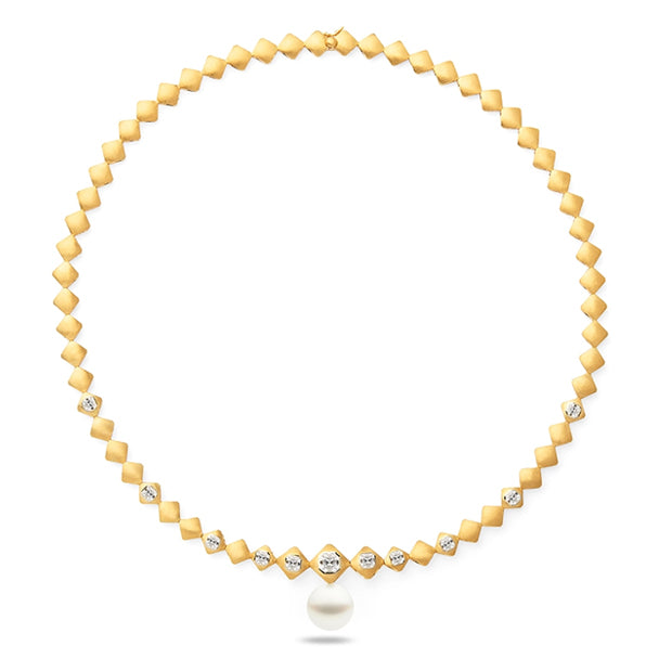 ROYAL MERIDIAN NECKLACE, YELLOW GOLD