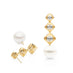 KAILIS ROYAL MERIDIAN DROP EARRINGS, YELLOW GOLD