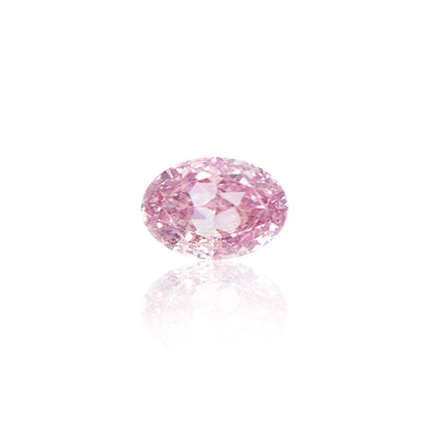 0.41CT FANCY PINK/SI2 OVAL CUT LOOSE ARGYLE PINK DIAMOND IGI COLLECTORS EDITION
