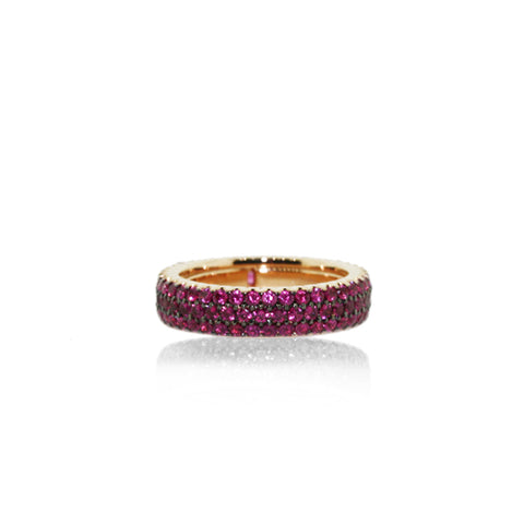 ROBERTO DEMEGLIO RUBY 18CT ROSE GOLD RING