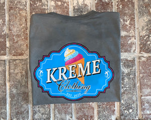 Ice KREME Time Grey Tee
