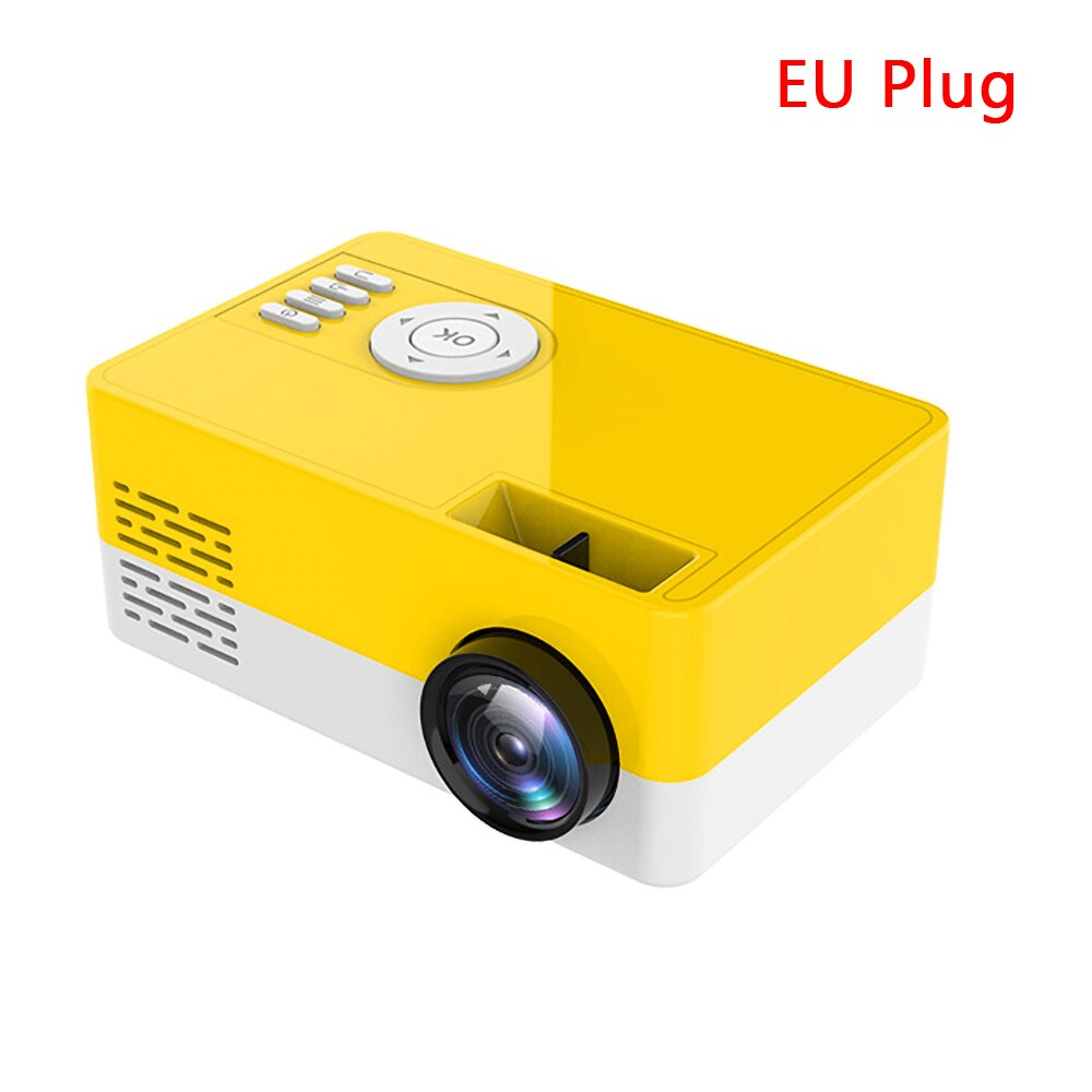 Nouveau HD J15 Portable Mini Projecteur 1920 * 1080 P Support AV USB SD Carte USB Mini Home Cinéma Projecteur Portable Beamer PK J9