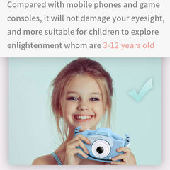 x8 2.0 inch Screen Kids Camera Mini Digital 12MP Photo Children Camera with 600 mAh Polymer Lithium Battery Toys Gift