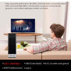 TV Stick Android 9.0 TV Box X96S TV Stick Amlogic S905Y2 DDR4 4GB 32GB X96 Mini PC 5G WiFi H.265 Bluetooth 4.2 TV Media Player
