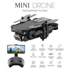 2.4G RC Drone FPV Wifi 4K 480P 1080P HD Camera Quadcopter LS-MIN Remote Control Quadcopter Wide Angle + Storage