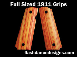 Tulipwood full sized 1911 grips
