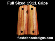Load image into Gallery viewer, Tulipwood full sized 1911 grips