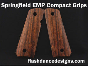 Bocote Springfield EMP Compact Grips