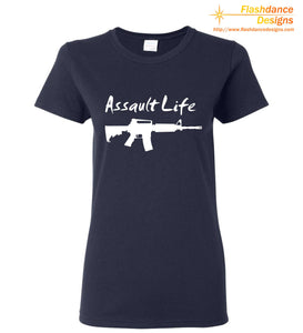 Assault Life Heavy Cotton Ladies' Tee
