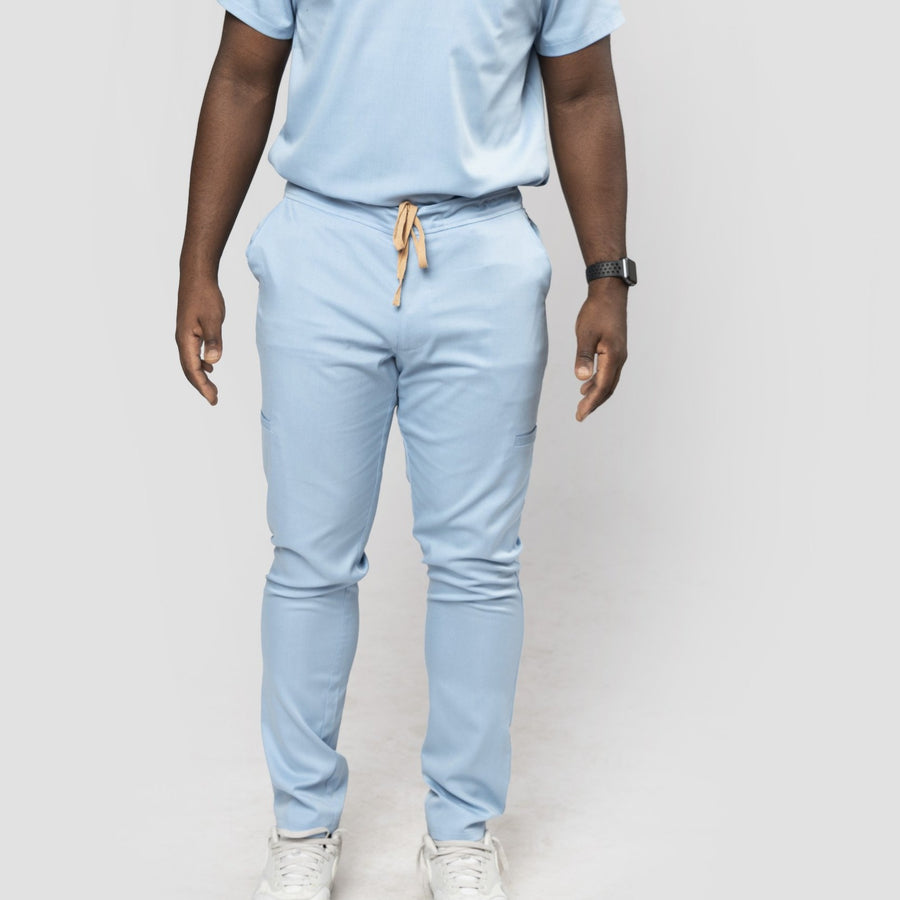 Signature Collection Slim-Fit Scrub Pants