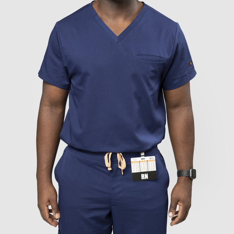 Basics Collection V-Neck Scrub Top
