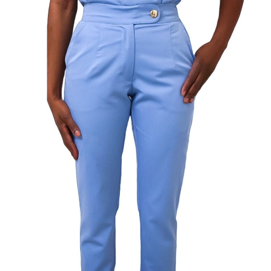 Signature Collection Straight Leg Scrub Pants