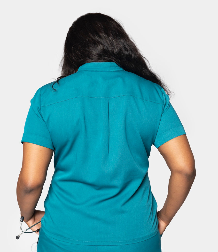 Signature Collection Utility Scrub Top