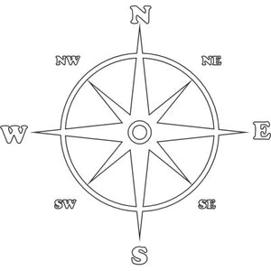 Compass with Directions