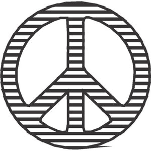 Peace Sign Filled
