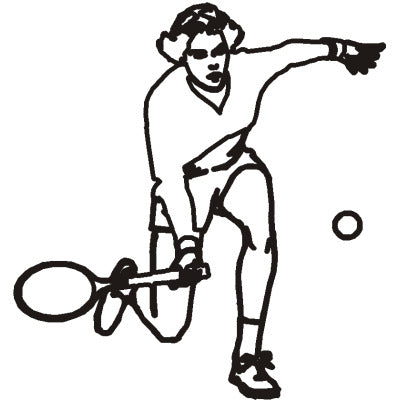 Racquet Ball Player