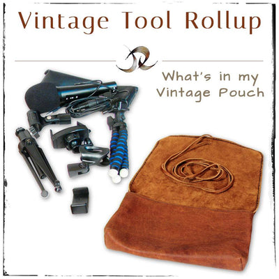 Vintage Tool Rollup
