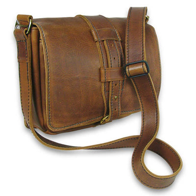 shown in Rustic Brown leather