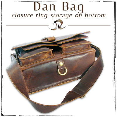 Dan Bag with Closure