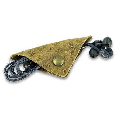 Leather Earbud Cozies