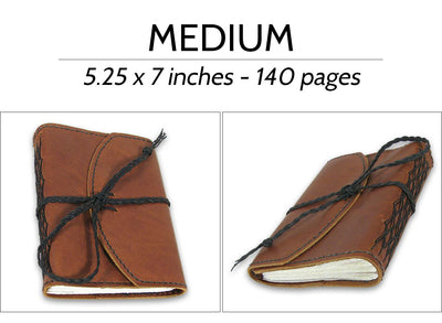 Wrap and Tie Closure Style Journals