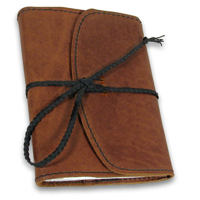 Traditional Refillable Journal - Wrap and Tie Closure