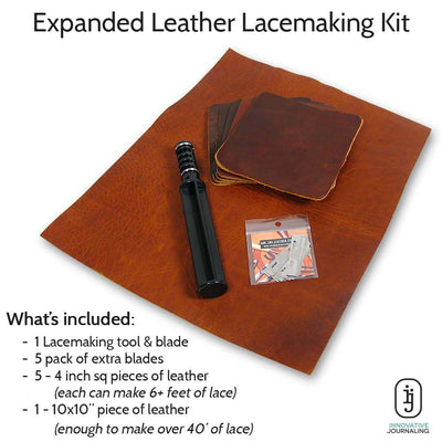 Leather Lace Making Kit