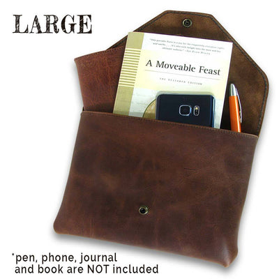 Slim Leather Pouch