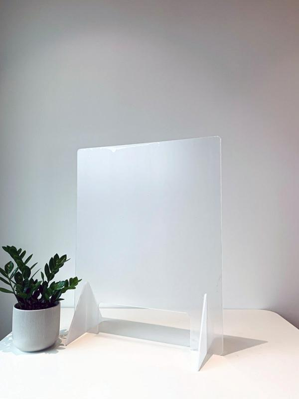 "LIMITED TIME Countertop Sneeze Guard 23.5""x31"" Clear Acrylic Plexiglass - BC Retail Supplies"