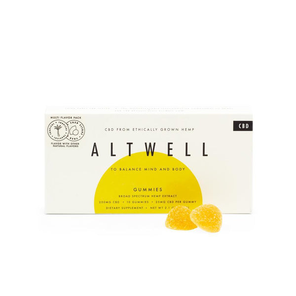 Altwell Balance Gummies (Mixed Flavor Pack) 250mg | 10 count - DirectHemp.com