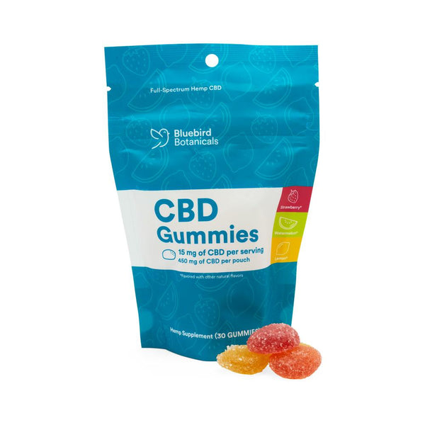 Bluebird Botanicals 450mg Full Spectrum Gummies - DirectHemp.com
