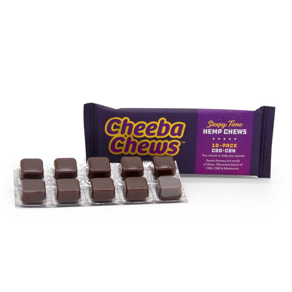 Cheeba Chews 25mg Sleepy Time Chews - 10 Pack - 250mg Total CBD - DirectHemp.com