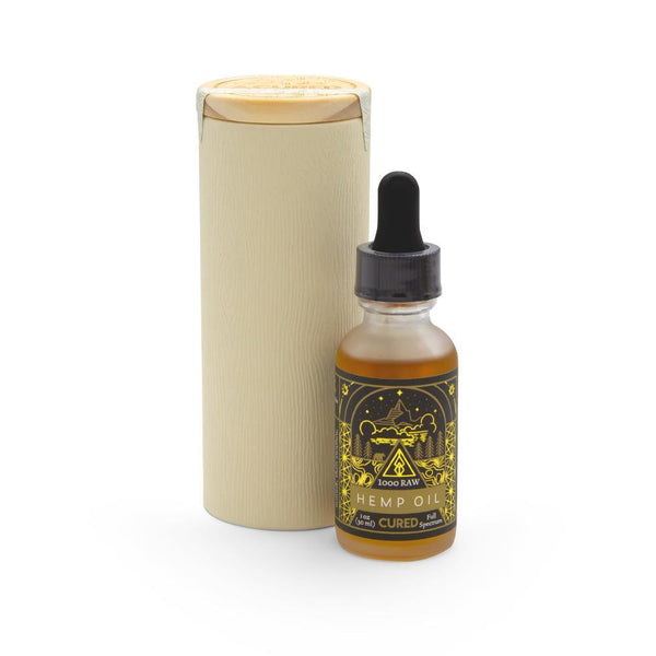 Cured Nutrition 1000mg Raw Tincture - DirectHemp.com