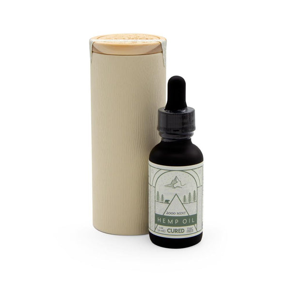 Cured Nutrition 2000mg Classic Mint Tincture - DirectHemp.com