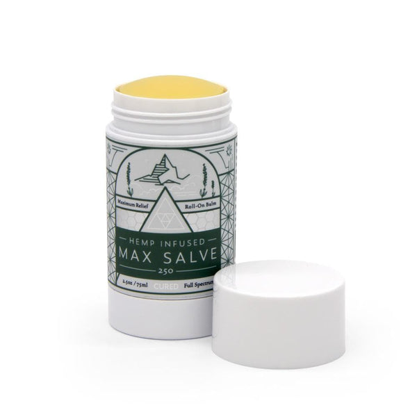 Cured Nutrition 250mg Max Salve - DirectHemp.com