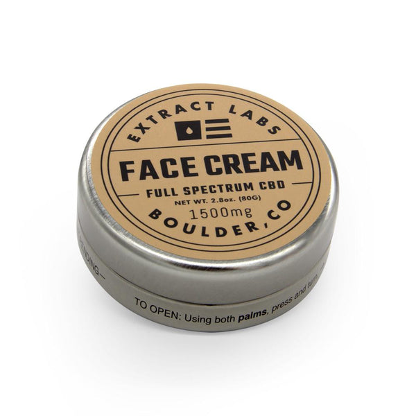 Extract Labs 1500mg Face Cream - DirectHemp.com