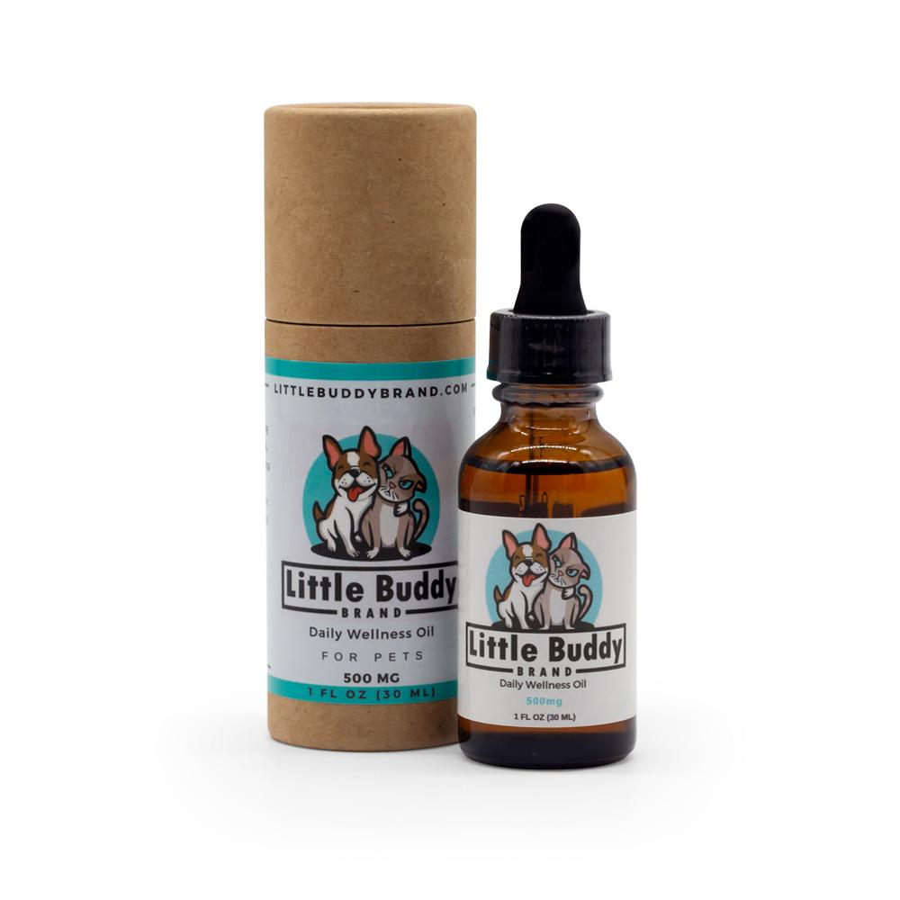 Little Buddy 500mg Pet Wellness Oil - DirectHemp.com