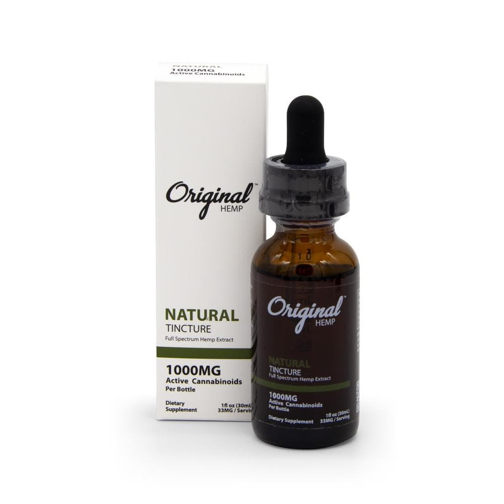 Original Hemp 1000mg Full Spectrum Tincture - DirectHemp.com