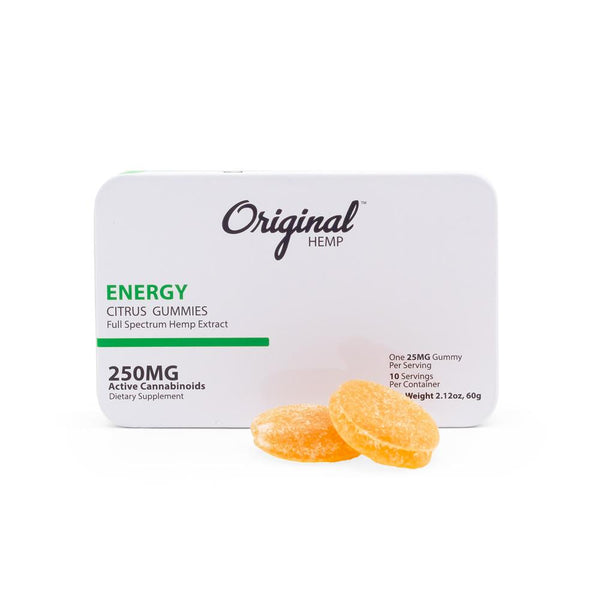 Original Hemp 250mg Full Spectrum Energy Gummies - DirectHemp.com