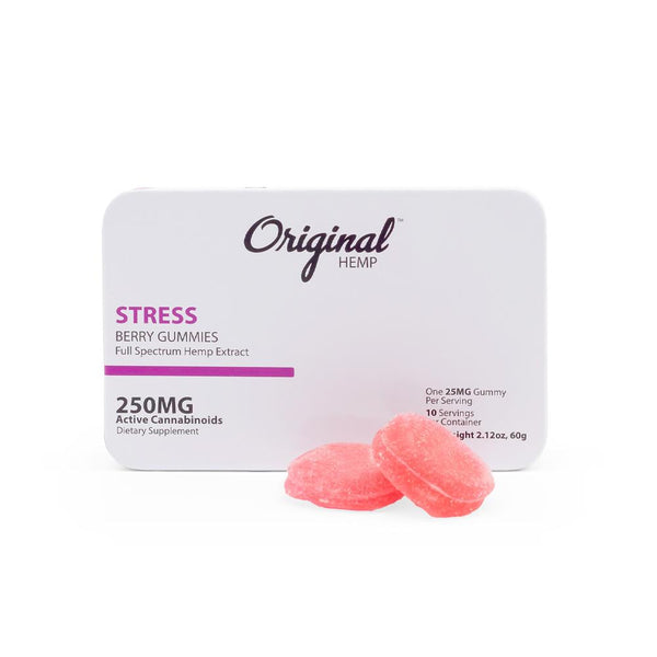 Original Hemp 250mg Full Spectrum Stress Gummies - DirectHemp.com