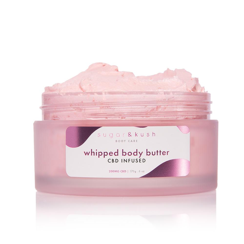 Sugar and Kush 200mg CBD and CBG Infused Whipped Body Butter - DirectHemp.com