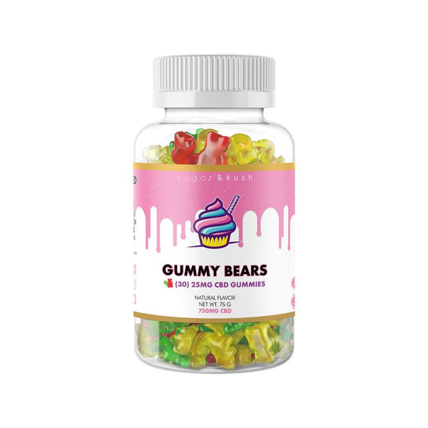 Sugar and Kush 750mg CBD Gummies - DirectHemp.com
