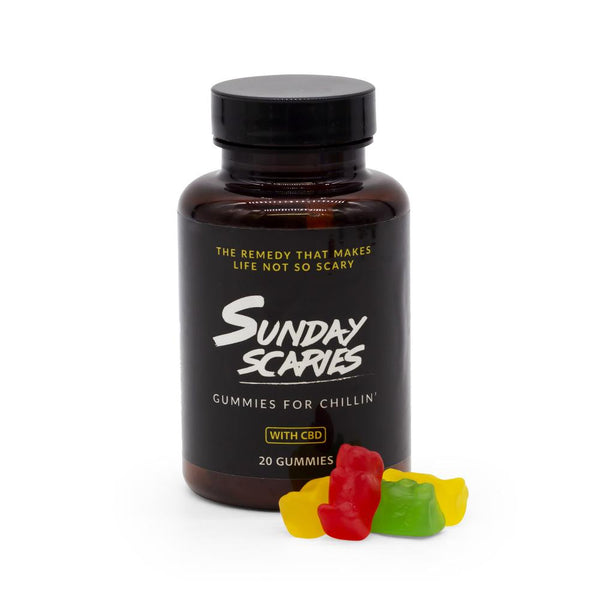 Sunday Scaries 200mg CBD Gummies - DirectHemp.com