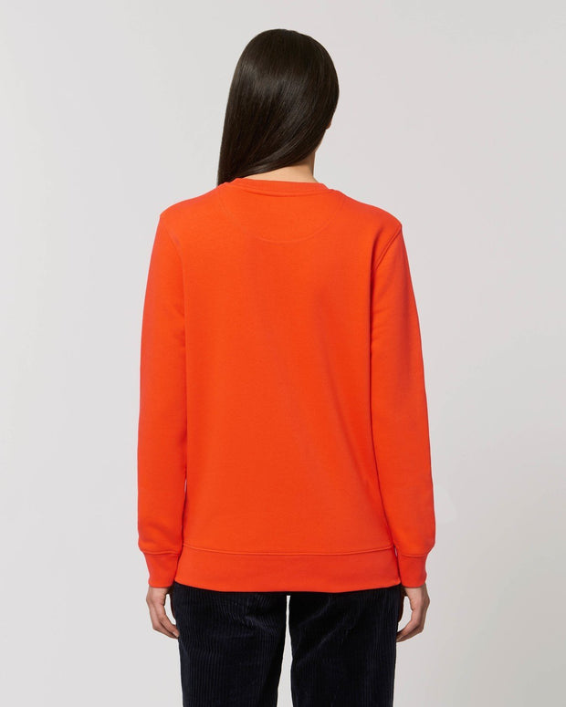 Unisex Pullover in Orange von Juniper & Moon