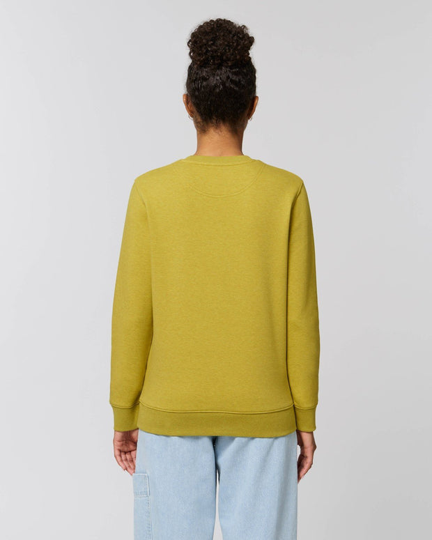 Clean & Chic - Iconic Rundhals-Sweatshirt in Lemongrass - Juniper & Moon